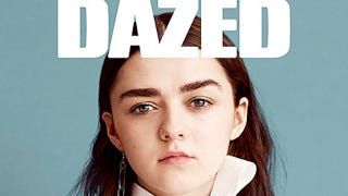 Illustration for article titled 17-Year-Old Maisie Williams to Grownups: 'You Don't Know Shit'