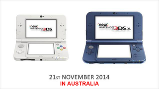 Illustration for article titled Australia Gets The New 3DS This Year