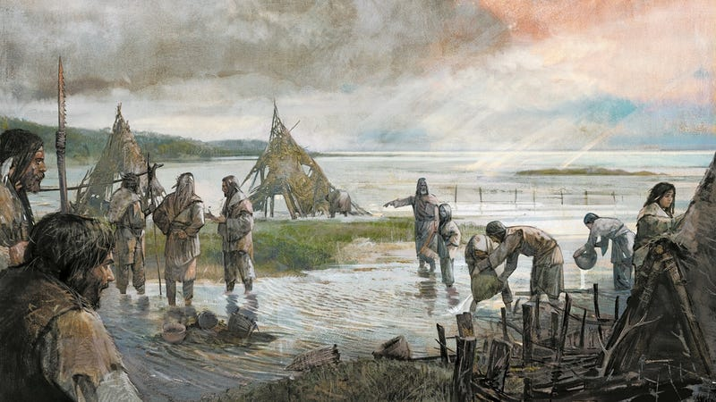 En busca de ADN de Doggerland, el trozo de Europa que quedó sumergido tras la Edad de Hielo