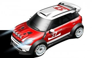 Illustration for article titled MINI Officially Returning To WRC With Countryman