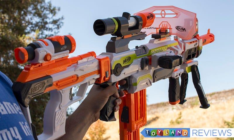 Die beste Sache über Nerfs modulare Dartpistole ist der