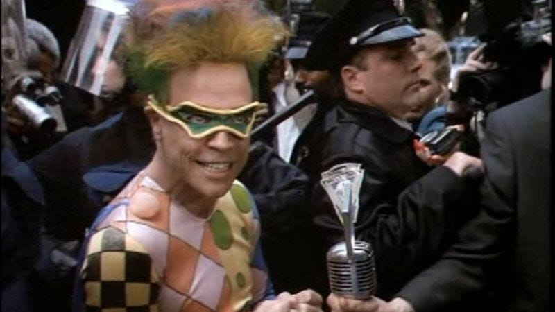 Illustration for article titled Mark Hamill's Trickster will be appearing on The Flash