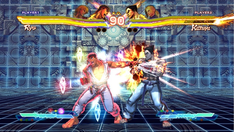 Illustration for article titled Street Fighter x Tekken Comes Out March 2012, Brings Fighting Game Viagra With It