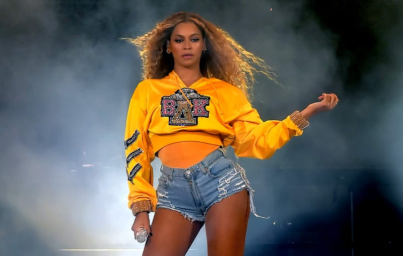 Beyoncé performs during the Coachella Valley Music And Arts Festival, Weekend 1, at the Empire Polo Field on April 14, 2018, in Indio, Calif.