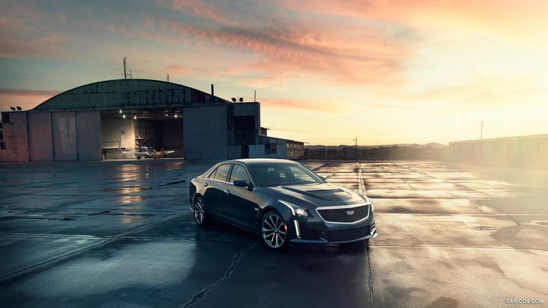 Illustration for article titled New Cadillac CTS-V Sedan: Full First Details And Images