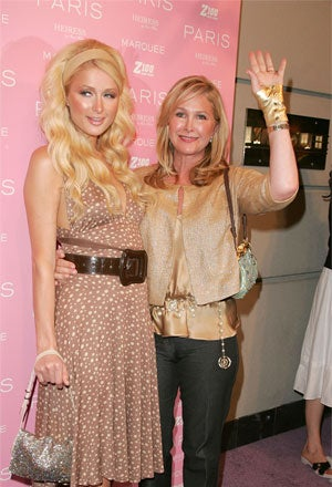 Illustration for article titled Paris Hilton's Mom Makes Lindsay's Look Like Mother Of The Year