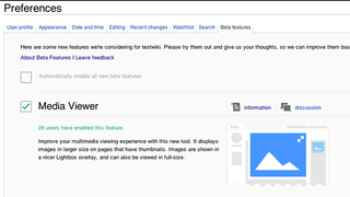 Wikipedia Launches Beta Features, Media Viewer and New Fonts Up First