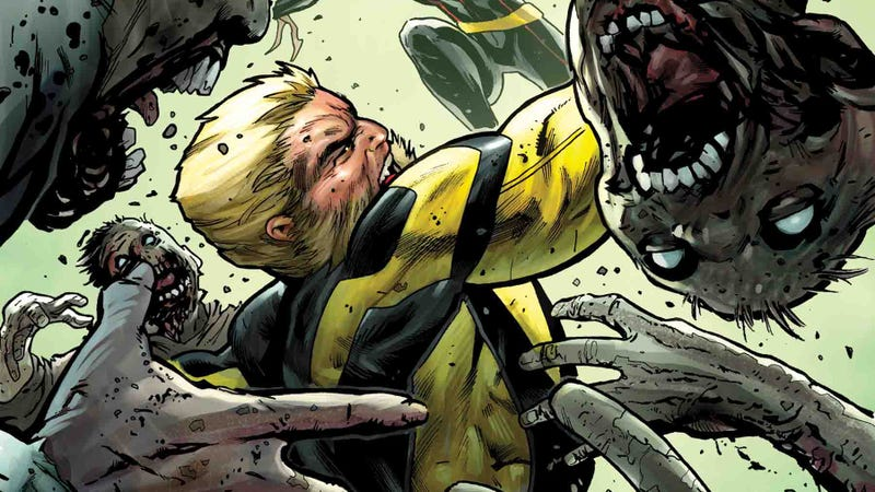 Illustration for article titled This Claws Of The Killer exclusive reveals the horror of Wolverine's return