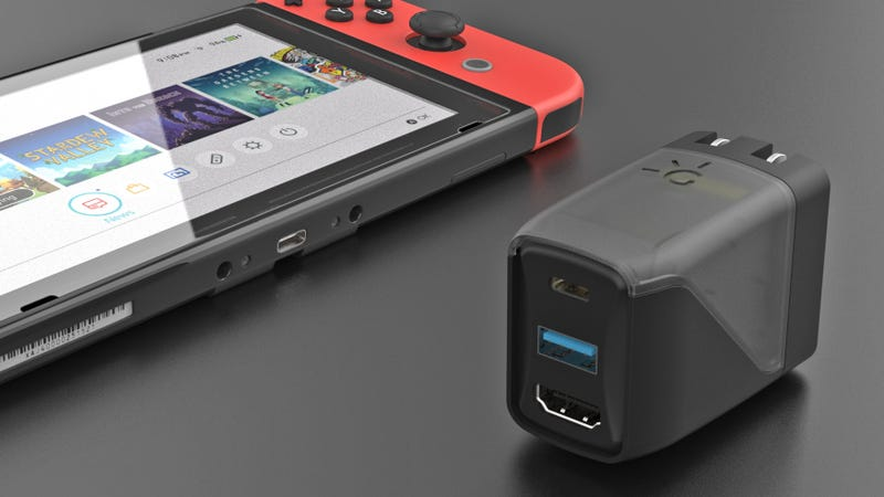 This Unassuming Charger Will Power a Switch, Connect It to a TV, and Charge Other Stuff Too