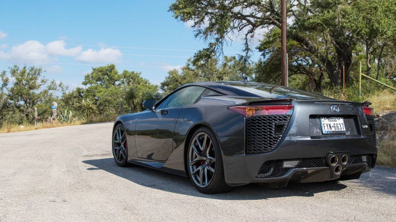 This Particular LFA Was Very Much Sold And Is Being Enjoyed By A Loving  Owner. Image Credit: Kurt Bradley/Jalopnik