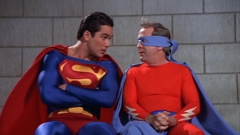 Illustration for article titled In Lois & Clark, Superman wasn't always bulletproof