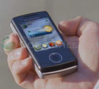 Illustration for article titled Sony Ericsson Paris Slider Leaked?