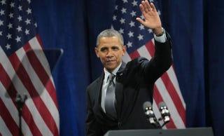 President Barack Obama Scott Olson/Getty Images