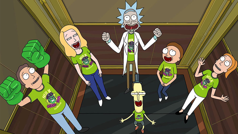 Rick and the gang are in for a long future of horrifyingly gross and/or weird adventures yet.