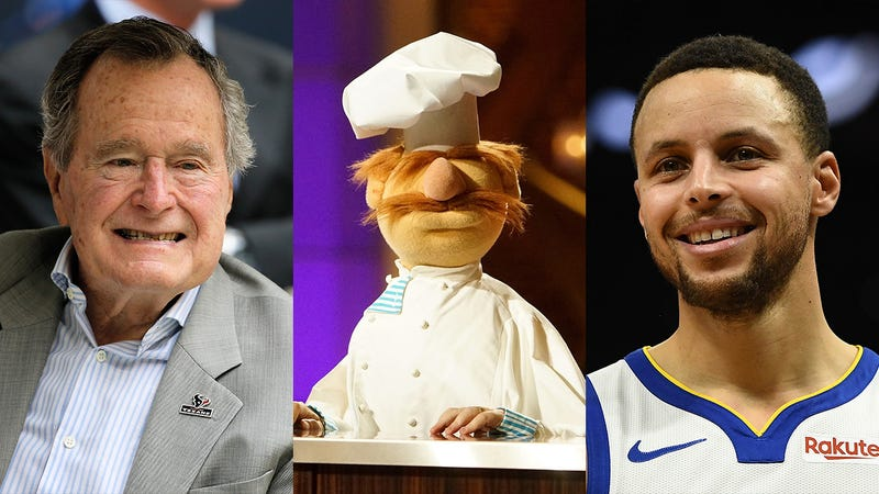 Illustration for article titled Passing The Torch: The Jim Henson Company Has Announced That Steph Curry Will Replace The Late George H.W. Bush As The Voice Of The Swedish Chef