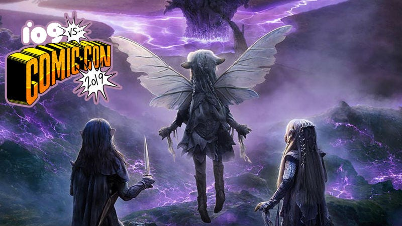 Netflix's Dark Crystal Comic-Con Panel Was the Stuff of Dreams