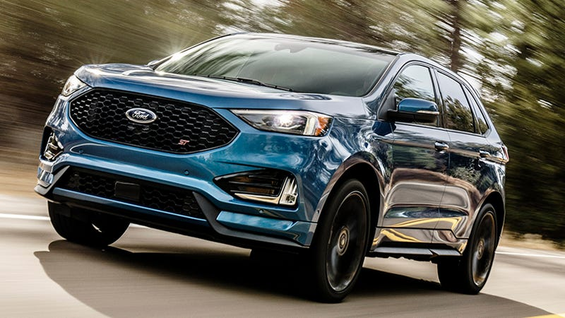 Ford Edge ST So This Is Happening - Ford