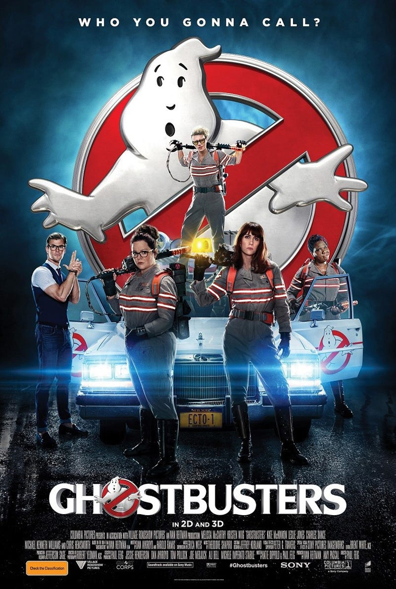 Illustration for article titled Ghostbusters Will Not Be Released In China