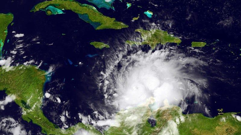 NOAA satellite photo: Getty