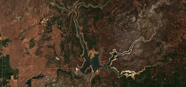 7 Shocking Satellite Images Reveal the West s Megadrought