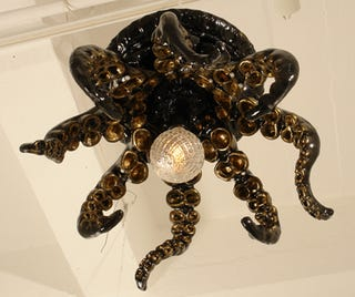 Illustration for article titled Tentacle Chandeliers (To Class Up the Place)