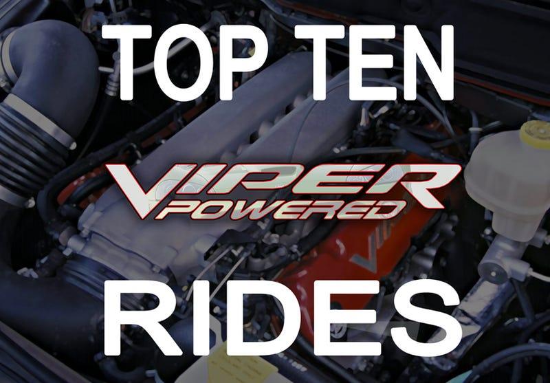 Top Ten Viper Engine Powered Rides