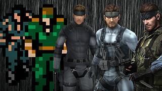Cómo han cambiado los personajes de Metal Gear en 27 años