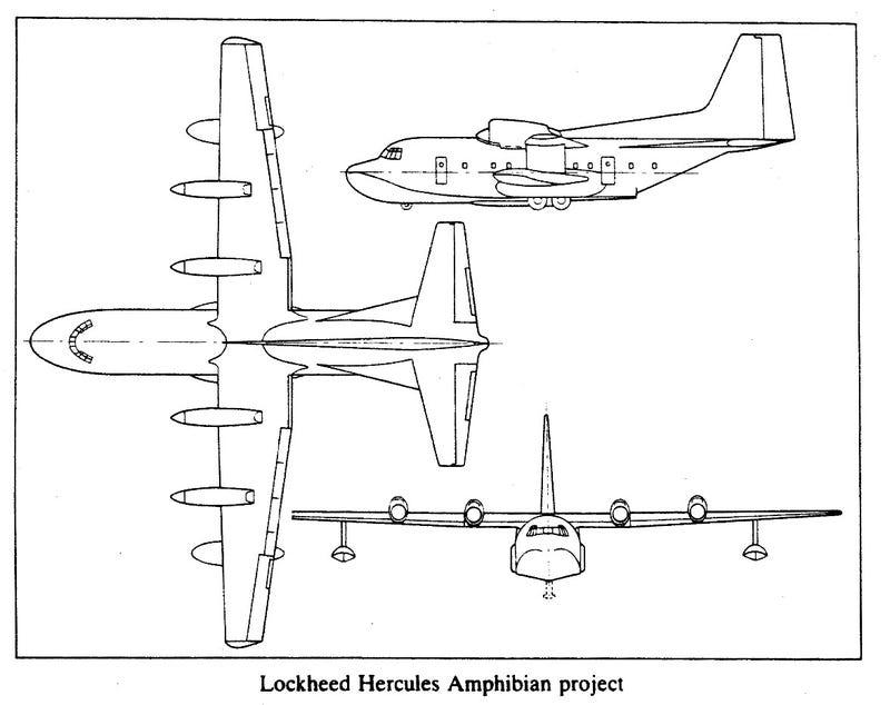 A C-130 Hercules Amphibian Makes Too Much Sense To Be True