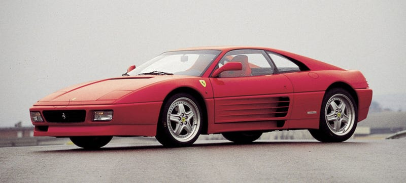Illustration for article titled This Is My New Favorite Picture Of A Ferrari