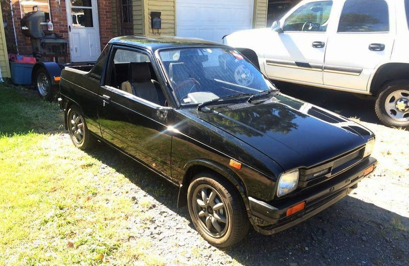 Illustration for article titled For $4,200, Could This 1983 Suzuki Mighty Boy Be A Mighty Fine Deal?