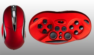 Illustration for article titled The Chameleon X-1 Wireless Gamepad Mouse Gets It Half Right