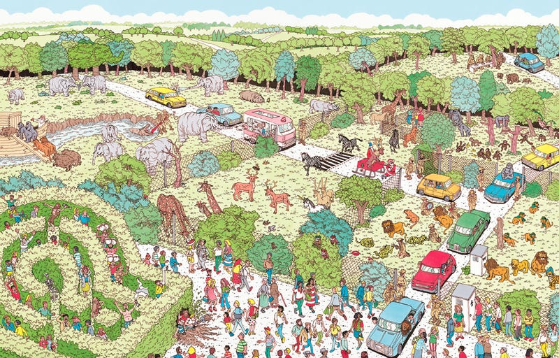 "Illustration for article titled Finally, Science Has Solved The Eternal Question of ""Where's Waldo?"""