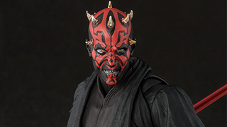 Illustration for article titled This Crazy Face Makes For A Great Darth Maul Figure