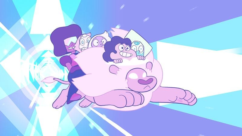 Illustration for article titled Steven Universe goes to the moon