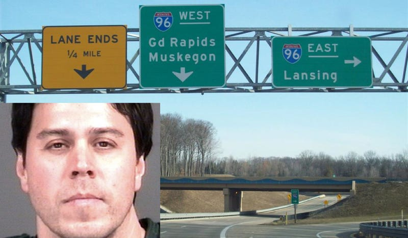 Illustration for article titled Police Say This Michigan Man Shot Up Cars On Interstate 96 And Terrorized Drivers