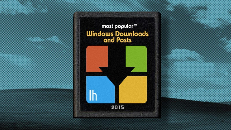 Illustration for article titled Most Popular Windows Downloads and Posts of 2015