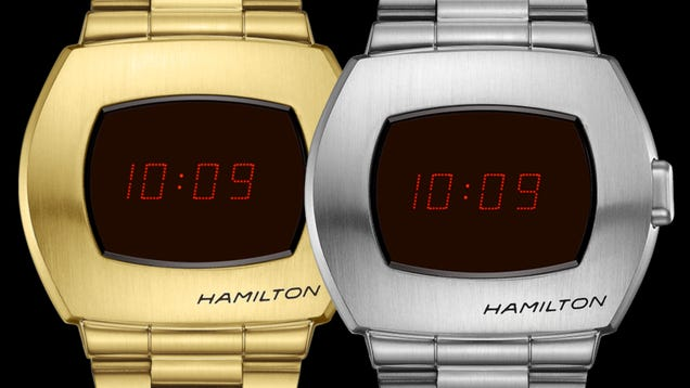 The World s First Digital Watch Is Coming Back—for $750