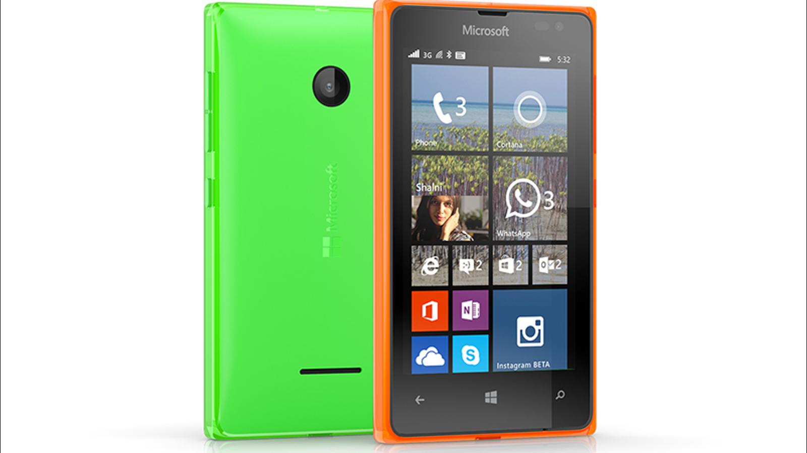 Lumia 435 y 532, estos son los nuevos smartphones baratos de Microsoft