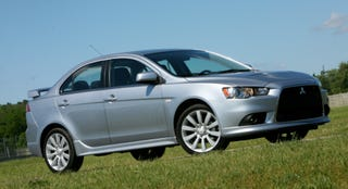 Illustration for article titled 2009 Mitsubishi Lancer Ralliart