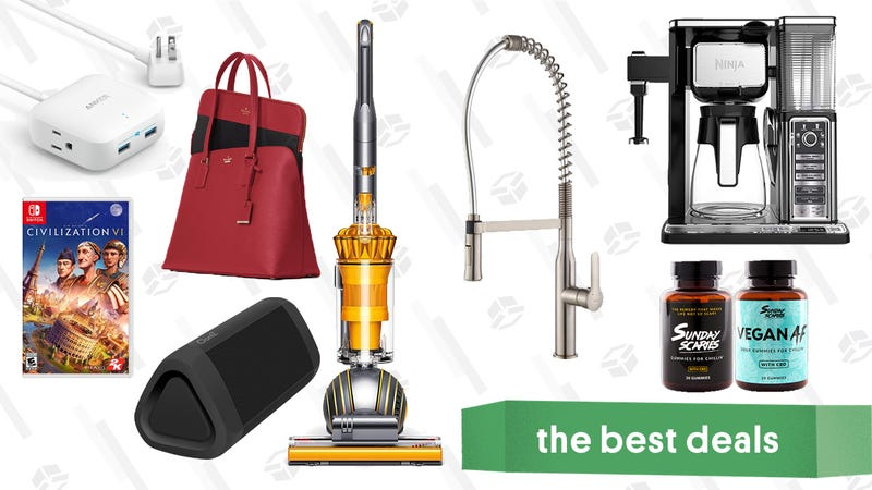 Illustration for article titled Friday's Best Deals: REI Labor Day Sale, Ninja Coffee Bar, CBD Gummies, and More