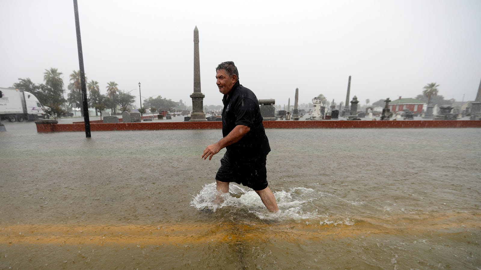 Tropical Depression Imelda Has Dumped More Than 40 Inches of Rain on the Texas Gulf Coast