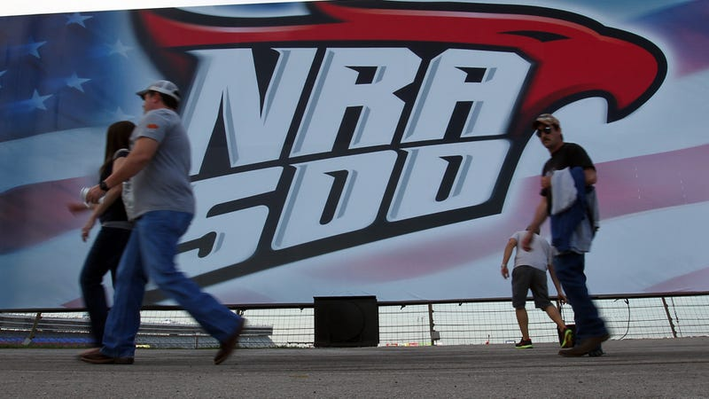 Illustration for article titled NASCAR Faces Gun Control Blowback Over The NRA 500