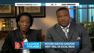Mother of victim in widely circulated rape video speaks out.MSNBC screenshot