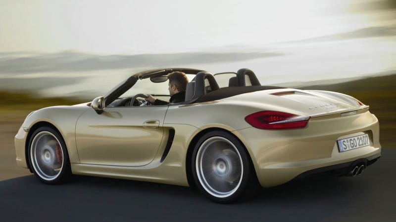 Illustration for article titled 2013 Porsche Boxster: First Photos