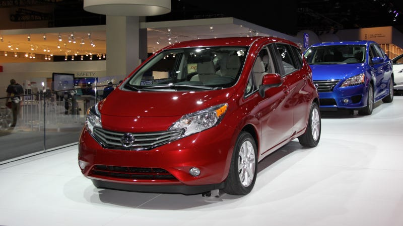 Illustration for article titled 2014 Nissan Versa Note: The Wee Little Nissan With A Heart Of Discount Gold