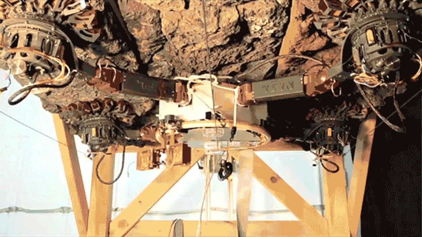 La NASA crea un robot pensado para escalar y sujetarse a asteroides