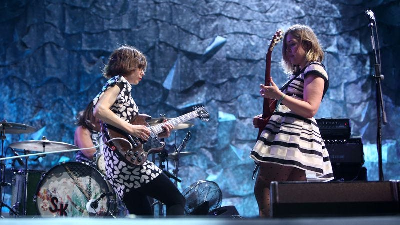 Sleater-Kinney (Photo by: Burak Cingi/Getty)