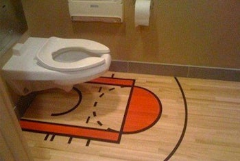 Illustration for article titled The Toilet That Allows You To Go Number One, Number Two, Or Shoot For Three