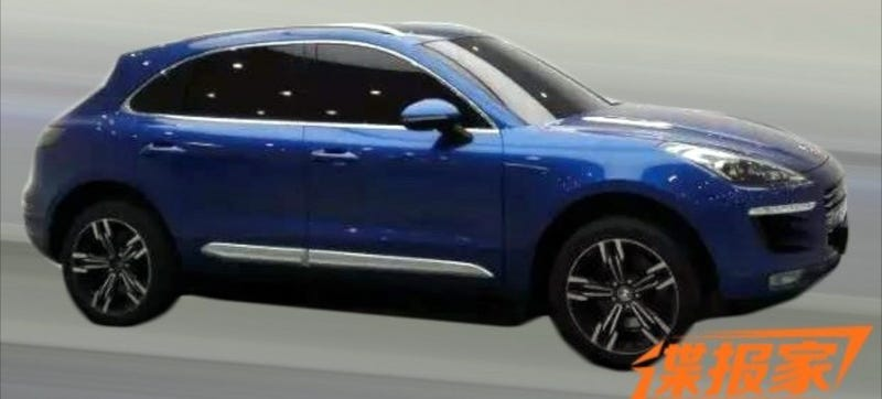 Illustration for article titled The Chinese Porsche Macan Copy Could Fool Your Neighbor For Under $30K