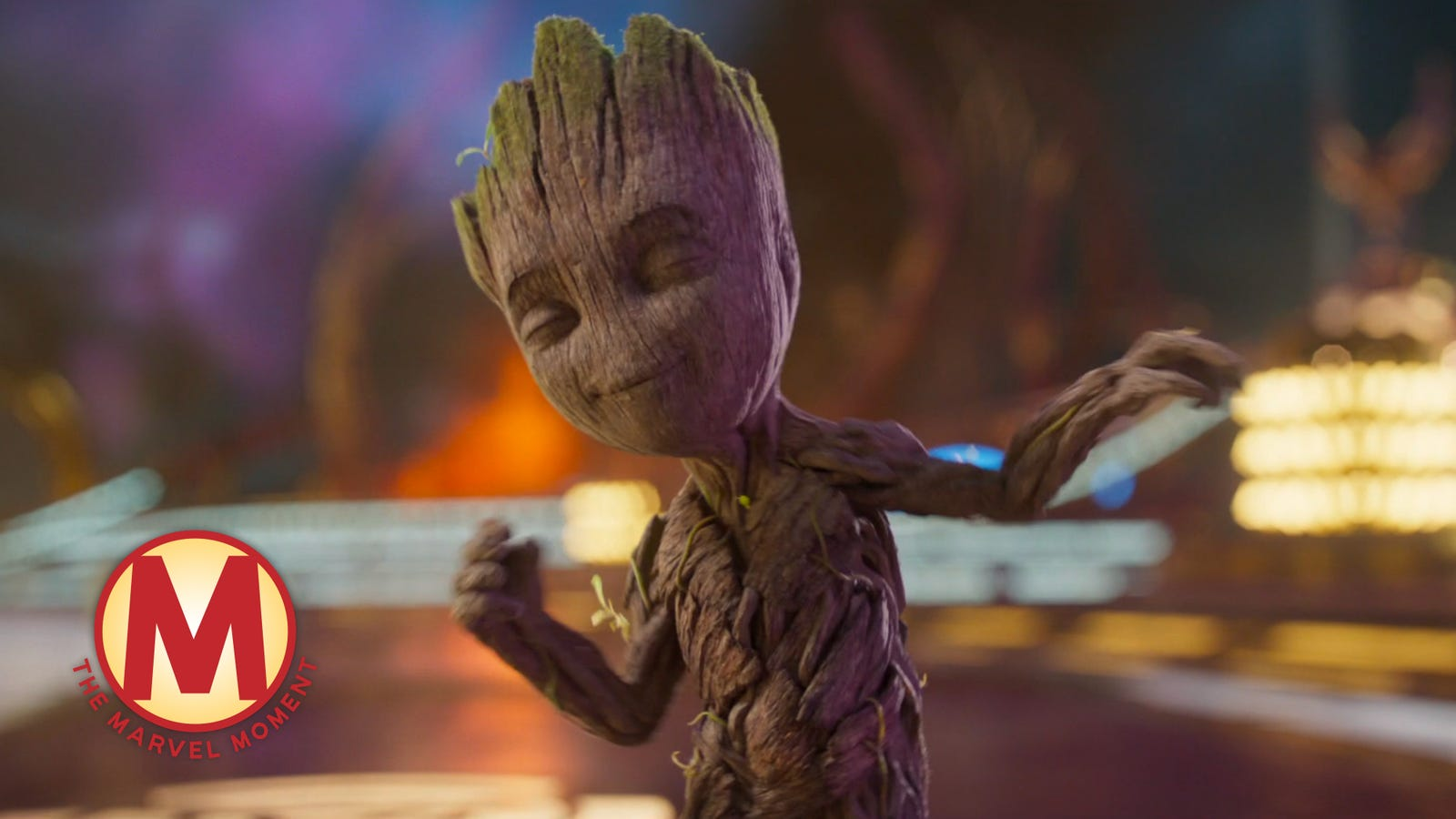Baby Groot briefly transforms the Galaxy (and the Marvel